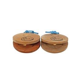 DIMAVERY DIMAVERY Castanets, wood 2x