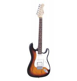 DIMAVERY DIMAVERY ST-312 E-Guitar, sunburst