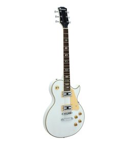 DIMAVERY DIMAVERY LP-700 E-Guitar, white