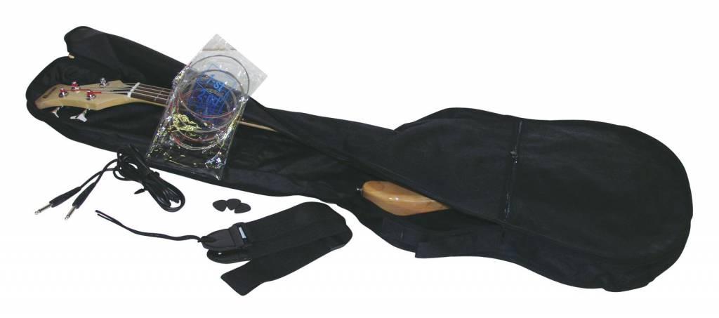 DIMAVERY DIMAVERY JB-302 E-Bass LH, black