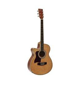 DIMAVERY DIMAVERY JK-303L cutaway-guitar, nature