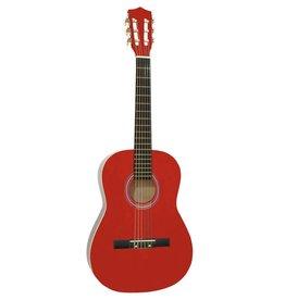 DIMAVERY DIMAVERY AC-303 Classic Guitar 3/4, red