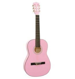 DIMAVERY DIMAVERY AC-303 Classic Guitar 3/4, pink