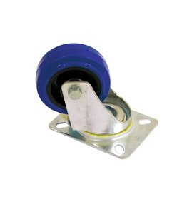 ACCESSORY Swivel castor 80mm blue