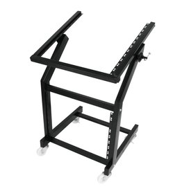 OMNITRONIC OMNITRONIC Rack stand 12U/10U adjustable on wheels