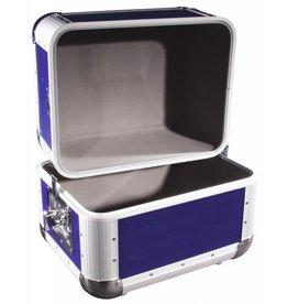 ROADINGER ROADINGER Record case ALU 50/50, rounded, dark blue