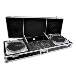 ROADINGER ROADINGER Console Road Pro for 2 turntables black