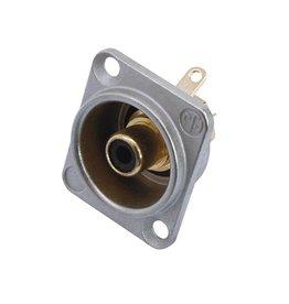 NEUTRIK NEUTRIK RCA mounting socket bk NF2D0