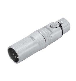 NEUTRIK NEUTRIK Adapter 3pin XLR(F)/5pin XLR(M) NA3F5M