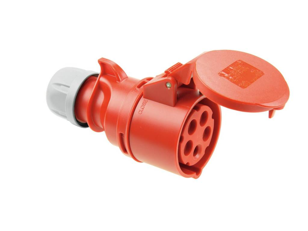 PC ELECTRIC PC ELECTRIC CEE socket 16A 5pin rd