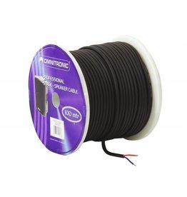 OMNITRONIC OMNITRONIC Speaker cable 2x1.5 100m bk durable