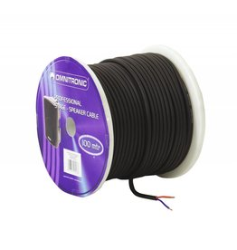 OMNITRONIC OMNITRONIC Speaker cable 2x1.5 50m bk durable
