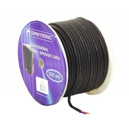 OMNITRONIC OMNITRONIC Speaker cable 2x2.5 50m bk durable
