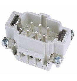 ILME ILME Plug insert 6-pin 16A, screw terminal