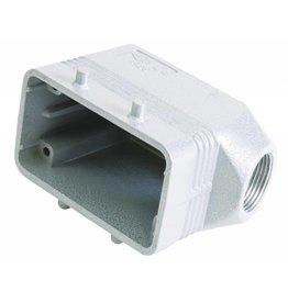 ILME ILME Socket casing for 10-pin, PG 16, angle