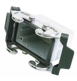ILME ILME Socket casing for 10-pin, PG 16, straigh