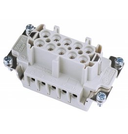 ILME ILME Socket insert 10-pin 16A, screw terminal