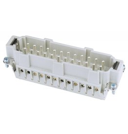 ILME ILME Plug insert 24-pin 16A,screw terminal