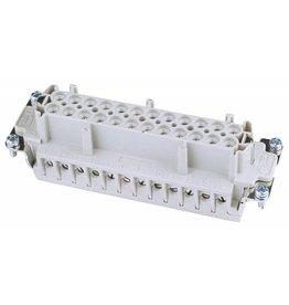 ILME ILME Socket insert 24-pin 16A,screw terminal