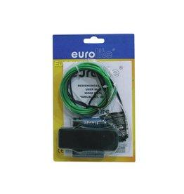 EUROLITE EUROLITE EL wire 2mm, 2m, green