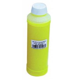 EUROLITE EUROLITE UV-active stamp ink, transp.yellow, 250ml