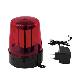 EUROLITE EUROLITE LED Police light 108 LEDs red classic