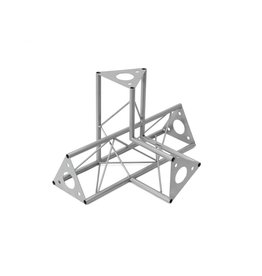 DECOTRUSS DECOTRUSS SAC-45 corner 4-way l+h silver