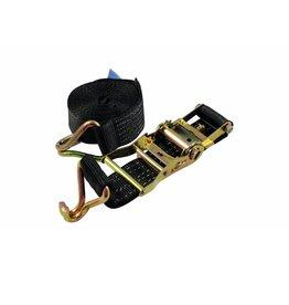 SHZ SHZ Clamping belt H400 ratchet hook black