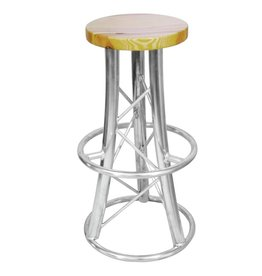 ALUTRUSS ALUTRUSS Bar stool, curved