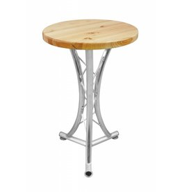 ALUTRUSS ALUTRUSS Bistro table, curved