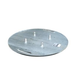 ALUTRUSS ALUTRUSS Steel base plate round type A