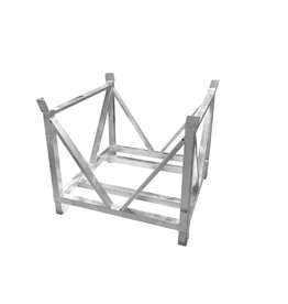 ALUTRUSS ALUTRUSS Dolly for Steel base plates square 80x80