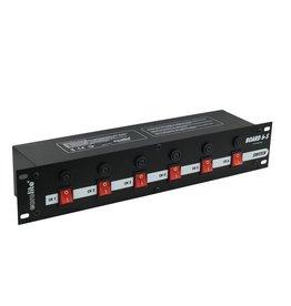 EUROLITE EUROLITE Board 6-S with 6x safety-plugs