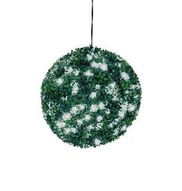EUROPALMS EUROPALMS Boxwood ball with white LEDs, 40cm