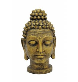 EUROPALMS EUROPALMS Buddhahead, antique-gold, 75cm