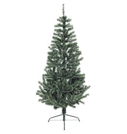EUROPALMS EUROPALMS Premium Fir tree, green-white, 180cm