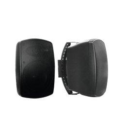 OMNITRONIC OMNITRONIC OD-5 Wall speaker 8Ohms black 2x