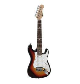 DIMAVERY DIMAVERY J-350 E-Guitar ST sunburst