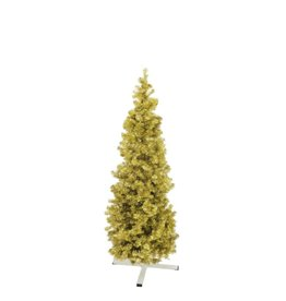 EUROPALMS EUROPALMS Fir tree FUTURA, gold metallic, 180cm