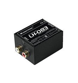 OMNITRONIC OMNITRONIC LH-083 Stereo isolator RCA S