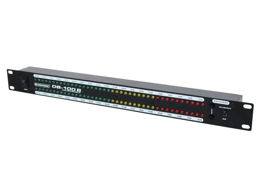 OMNITRONIC OMNITRONIC DB-100B Decibel level meter