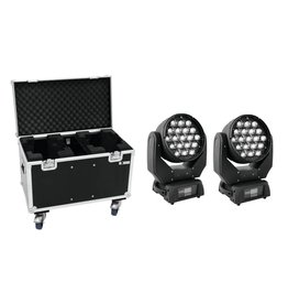 EUROLITE EUROLITE Set 2x LED TMH-X5 + Case