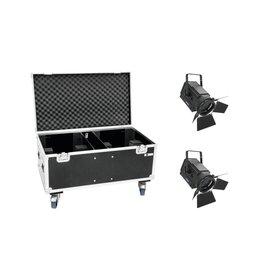 EUROLITE EUROLITE Set 2x LED THA-250F + Case