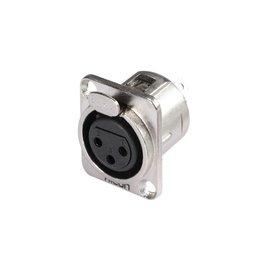 HICON HICON XLR mounting plug 3pin HI-X3DF