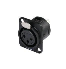 HICON HICON XLR mounting plug 3pin HI-X3DF-M