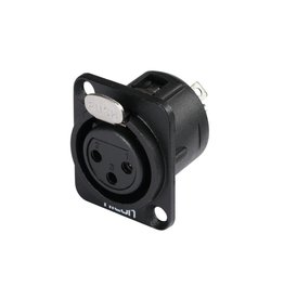 HICON HICON XLR mounting plug 3pin HI-X3DF-G