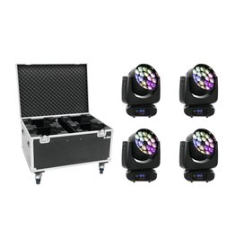 EUROLITE EUROLITE Set 4x LED TMH FE-1800 + Case
