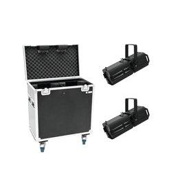 EUROLITE EUROLITE Set 2x LED PFE-120 3000K + Case