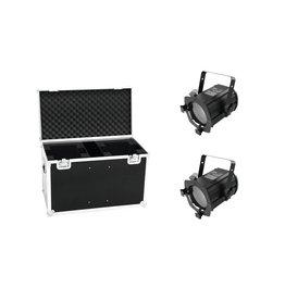 EUROLITE EUROLITE Set 2x LED THA-50F + Case