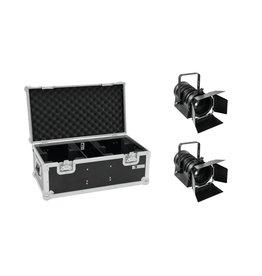 EUROLITE EUROLITE Set 2x LED THA-40PC bk + Case